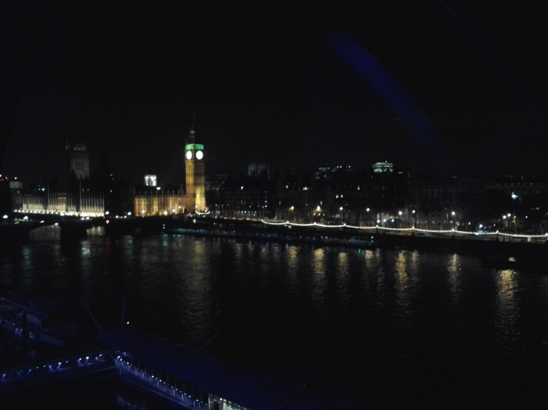 London Eye - vista