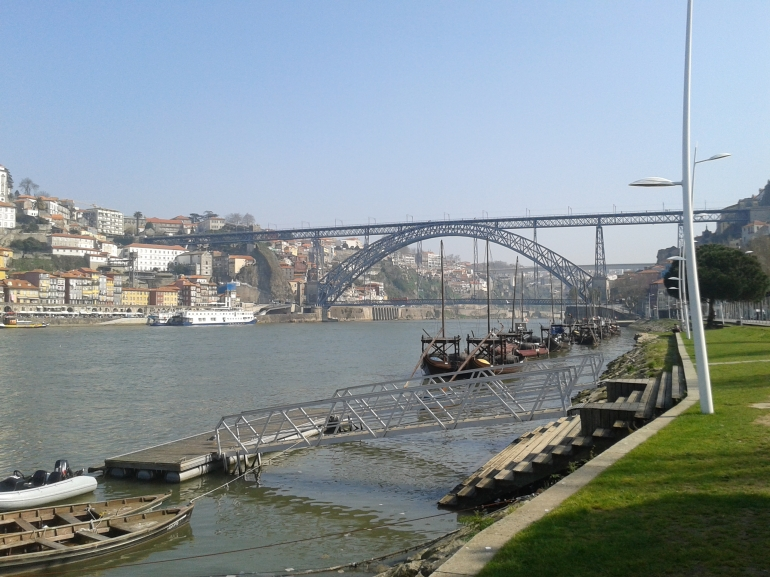 Ponte D. Luís, a mais famosa do Porto