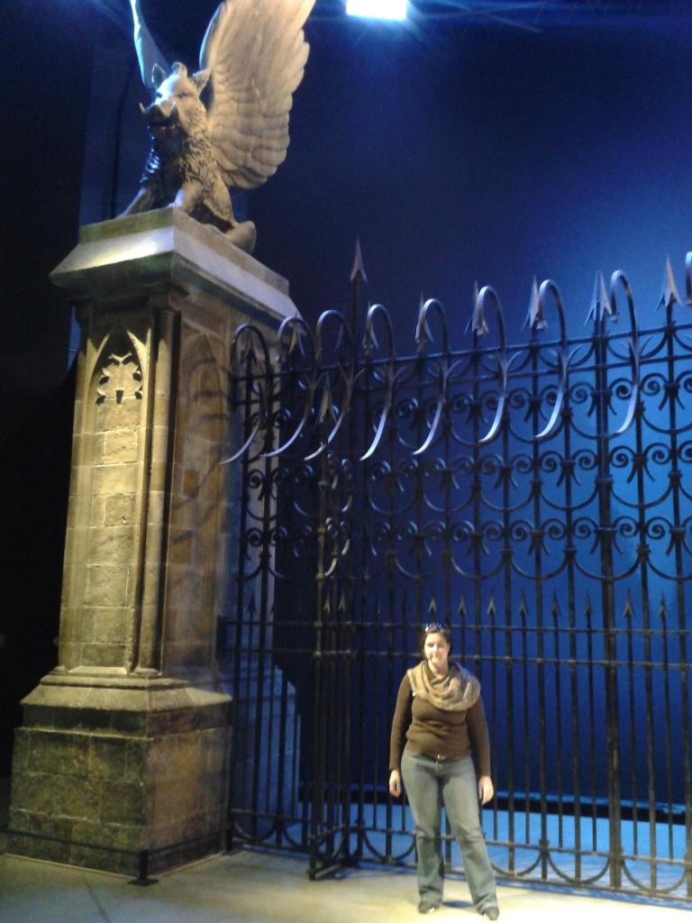 Portões do Castelo de Hogwarts