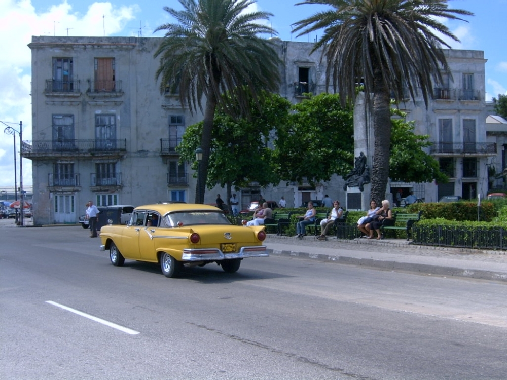 Carro antigo, Havana Vieja